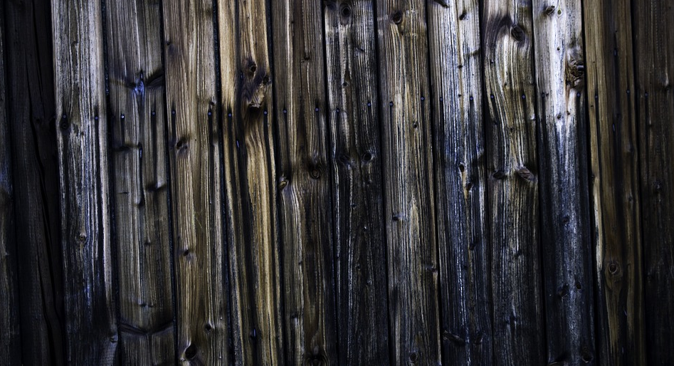 charred wood siding